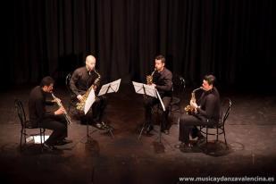 """Concierto Cuarteto de Saxofones """"Ariadna"""". Ciclo de Música de Cámara de Valencina de la Concepción. 2009"""