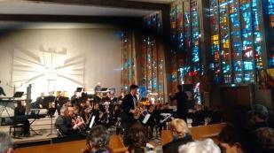 Concert Fantasia de Claude T. Smith con L'Abeille. 24/01/2016