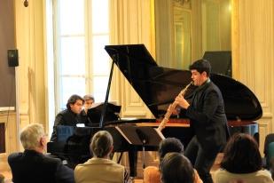 """Recital Festival de Música de Cámara """"Tempo Vivace"""". Palais Saint Jean de Lyon. 23/01/2015"""
