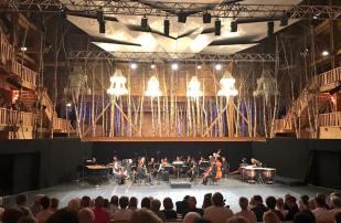 Concierto con la Orquesta des Pays de Savoie. La Creación del mundo en La Grange au Lac. 6/06/2016