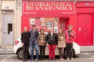 Concierto con la Trupe Oranga. Théâtre de poche des brankignols. Saint Étienne. 9/11/2016.