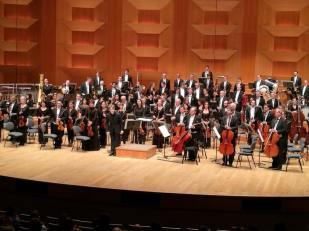 Concierto con la Orquesta Nacional de Lyon. Auditorio Nacional de Lyon. 11/12/2016.