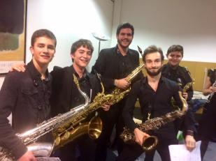 Concert de Noel. Orchestre 3ème cycle du CRD de Bourgeon Jailleu. La tour du Pin.