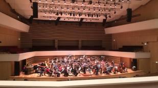 Concierto con la Orquesta Nacional de Lyon. Auditorium du Nouveau Siècle à Lille. 9/12/2016